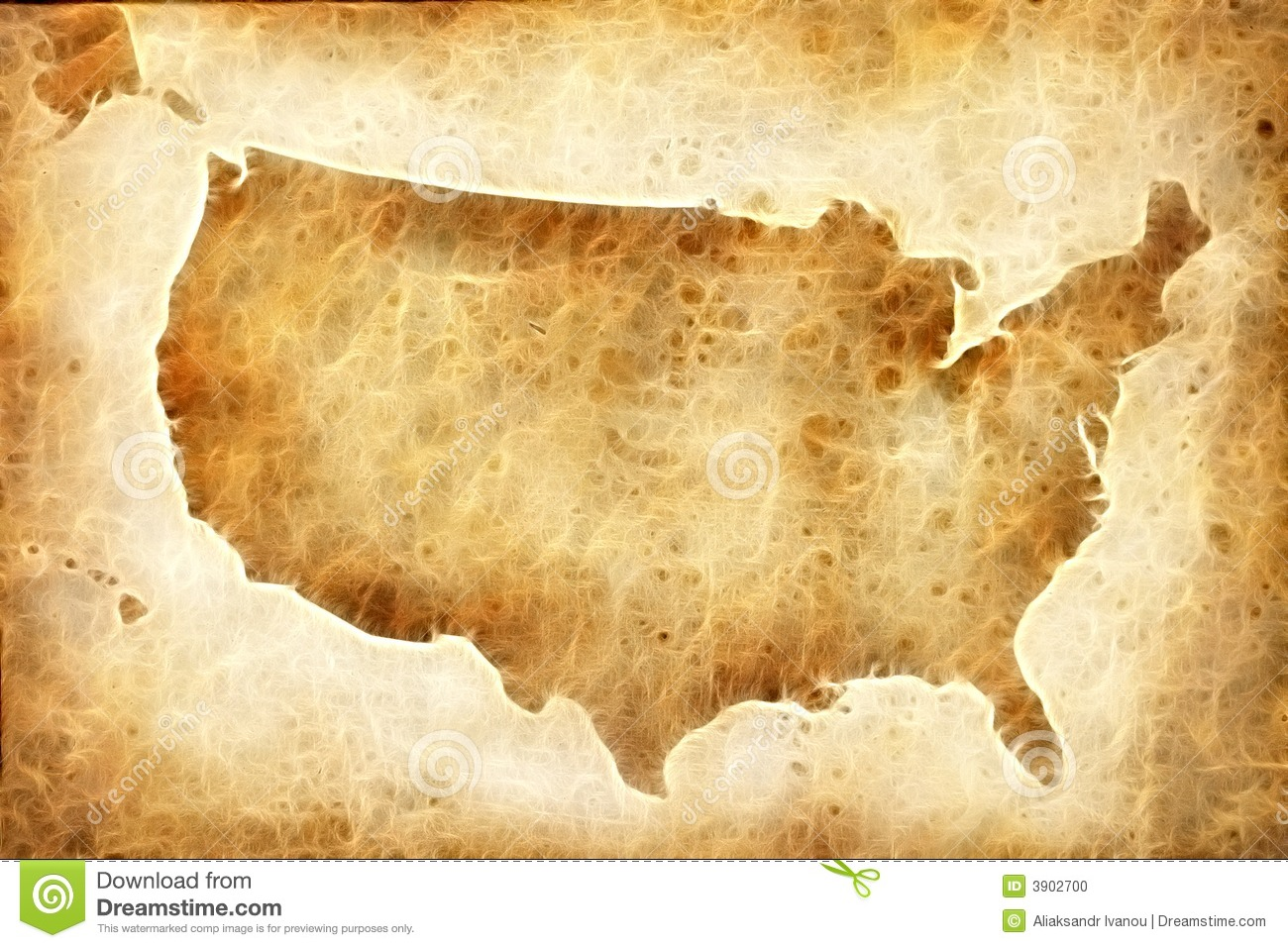 Background  map of the...