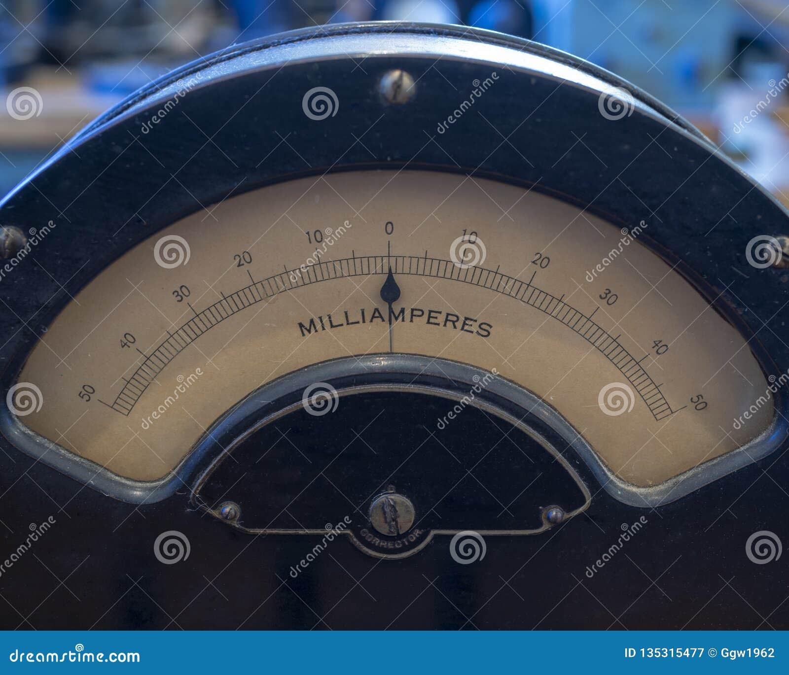 Old analog dial