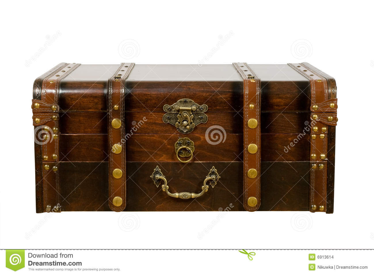 Old ancient chest