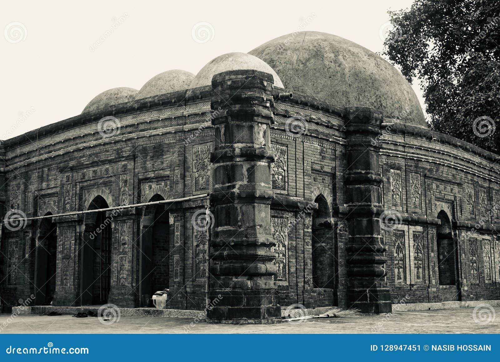 An old ancient mosque unique photo