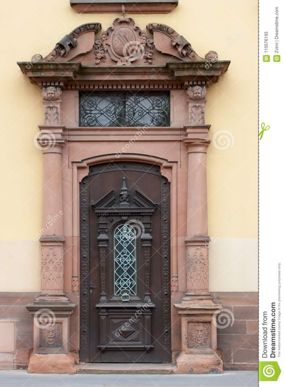 Old antique door