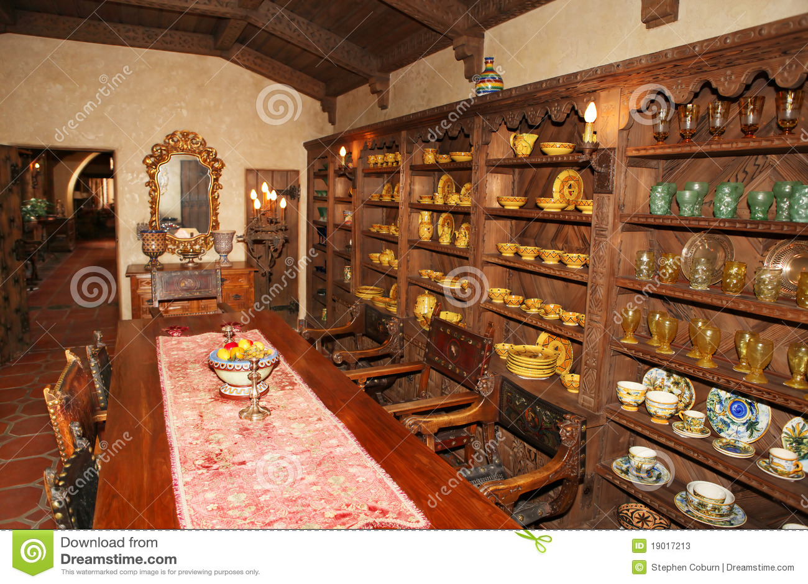 Old Antique Interior Stock Photos Image 19017213