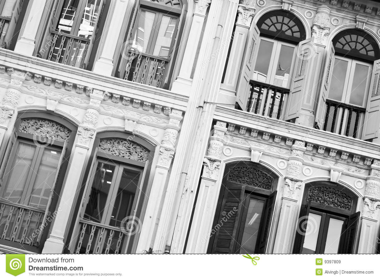 Antique Windows Old Antique Windows Royalty Free Stock Images Image 9397809