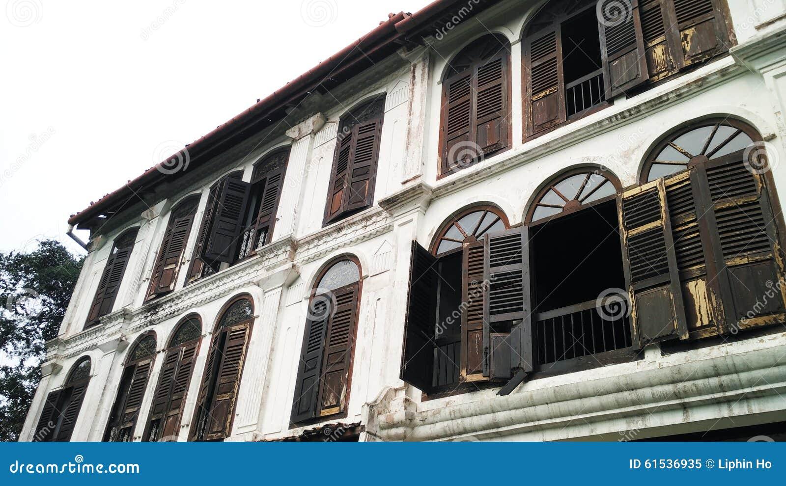 Antique Windows Old Antique Windows Stock Photo Image 61536935