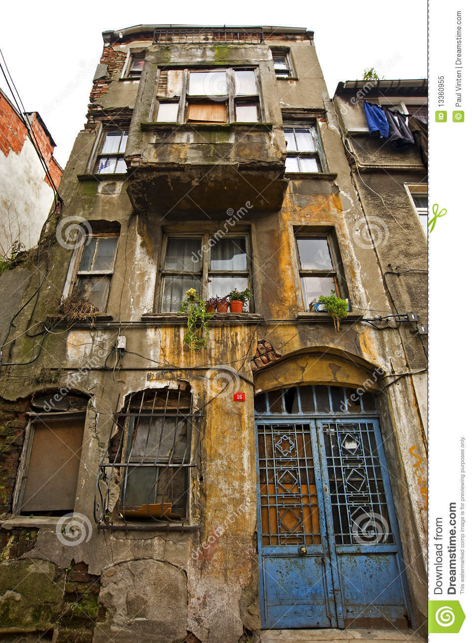 Old Apartment Building In City Centre Royalty Free Stock Photo ...