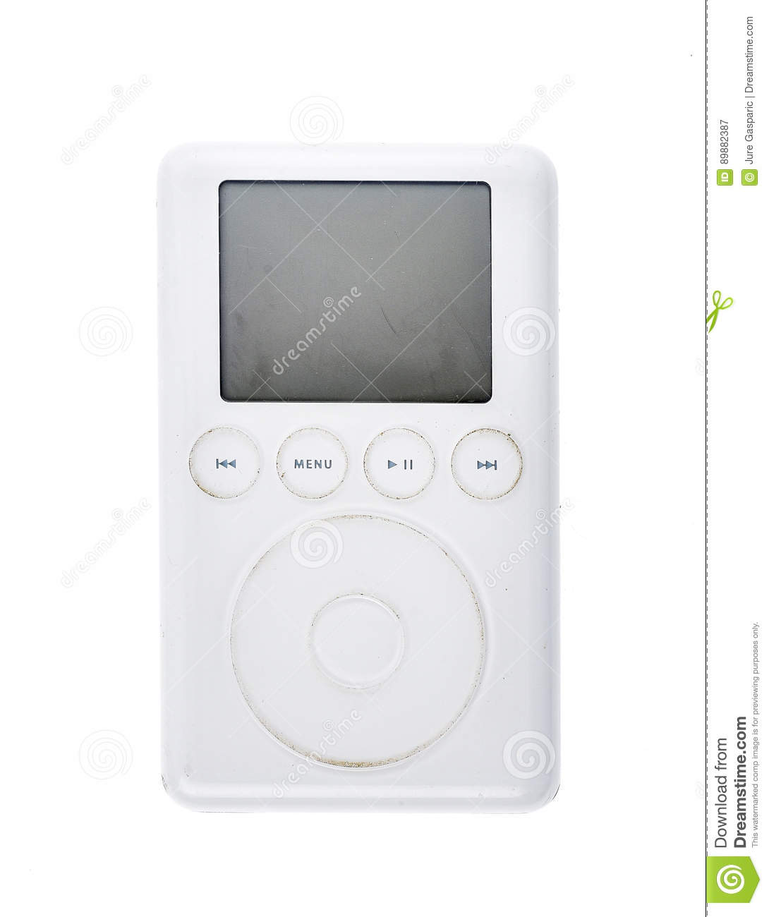 Old Apple iPod Classic 3rd Generation 15Gb 2003 mp3 player.