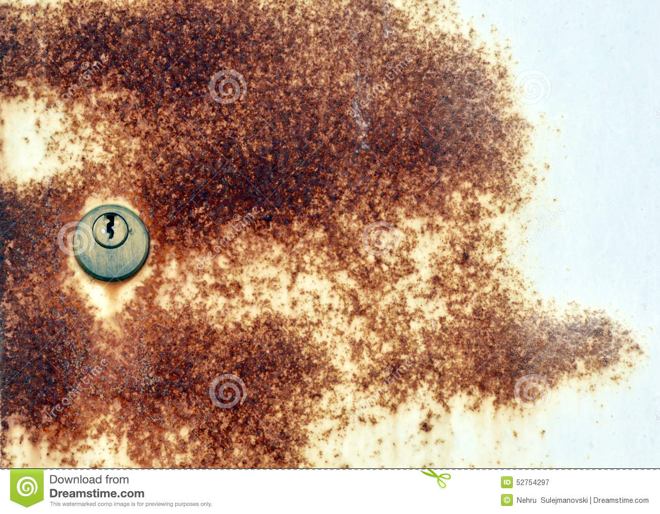 Old apple orchard with trees coated with fungicide stock photo image 52754297 - Bordeaux mixture ...