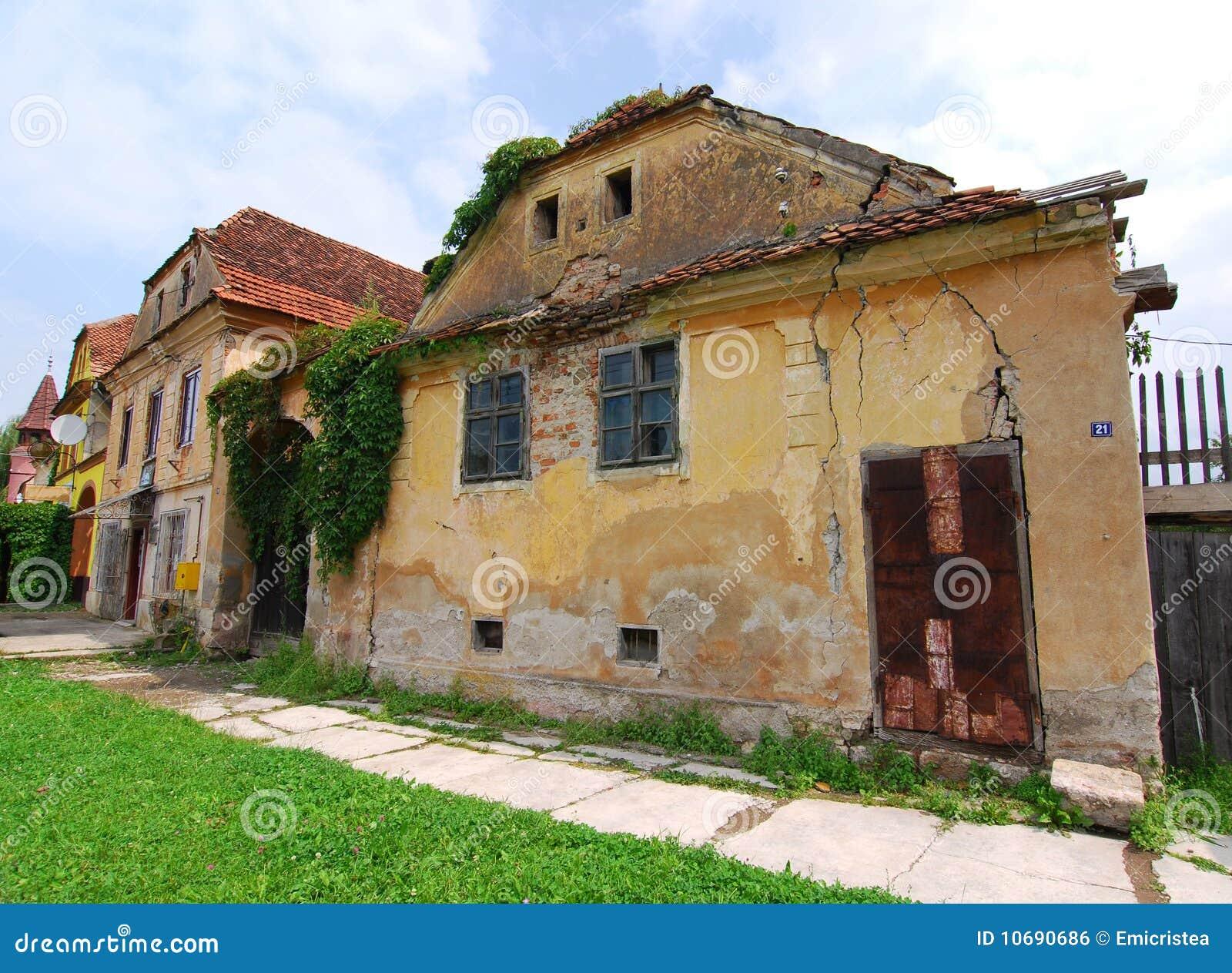 Old architecture in prejmer transylvania royalty free stock image image 10690686 - Saxon style houses in transylvania ...