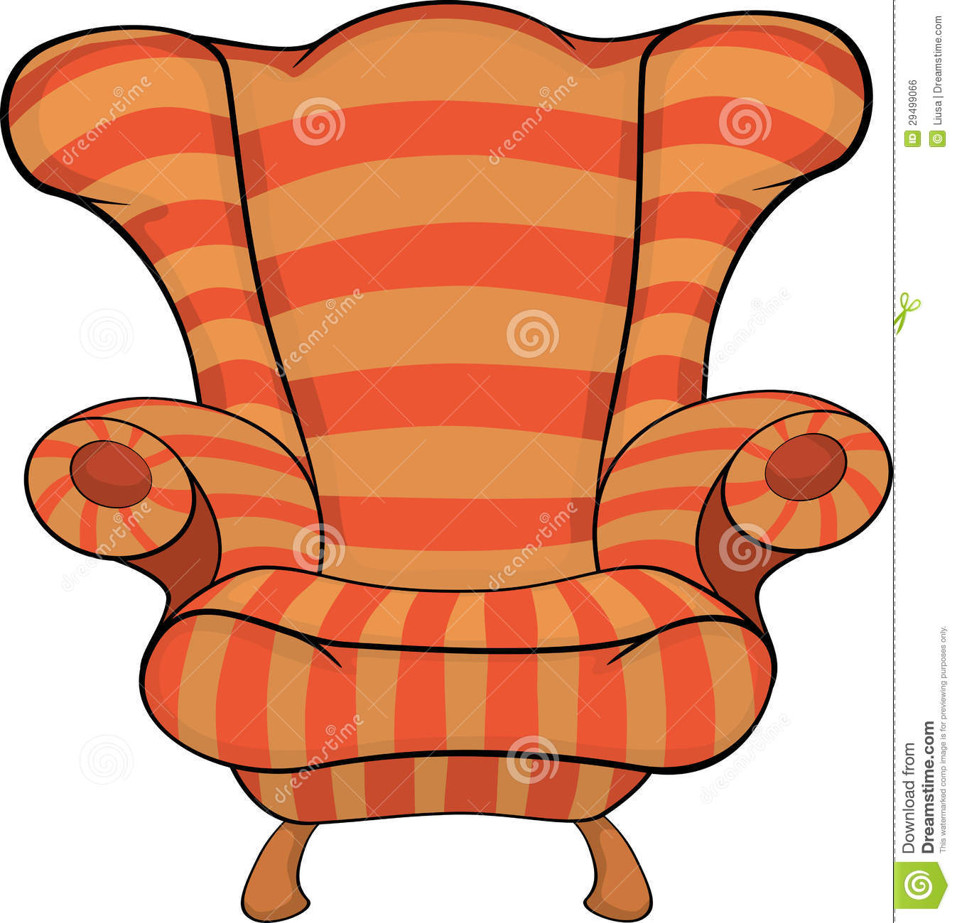 Old Armchair Royalty Free Stock Image Image 29499066