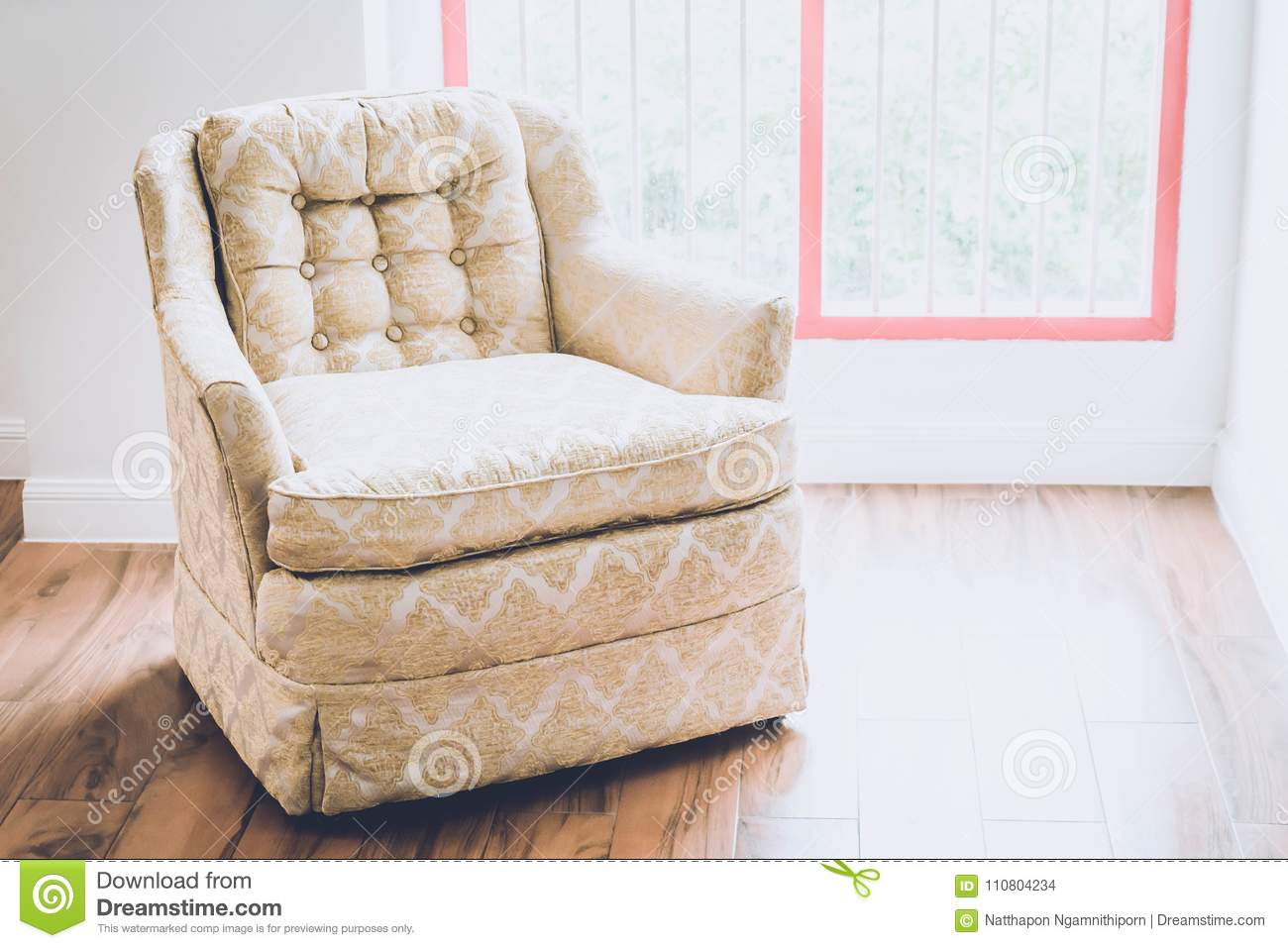 Old Armchair Decoration In Home