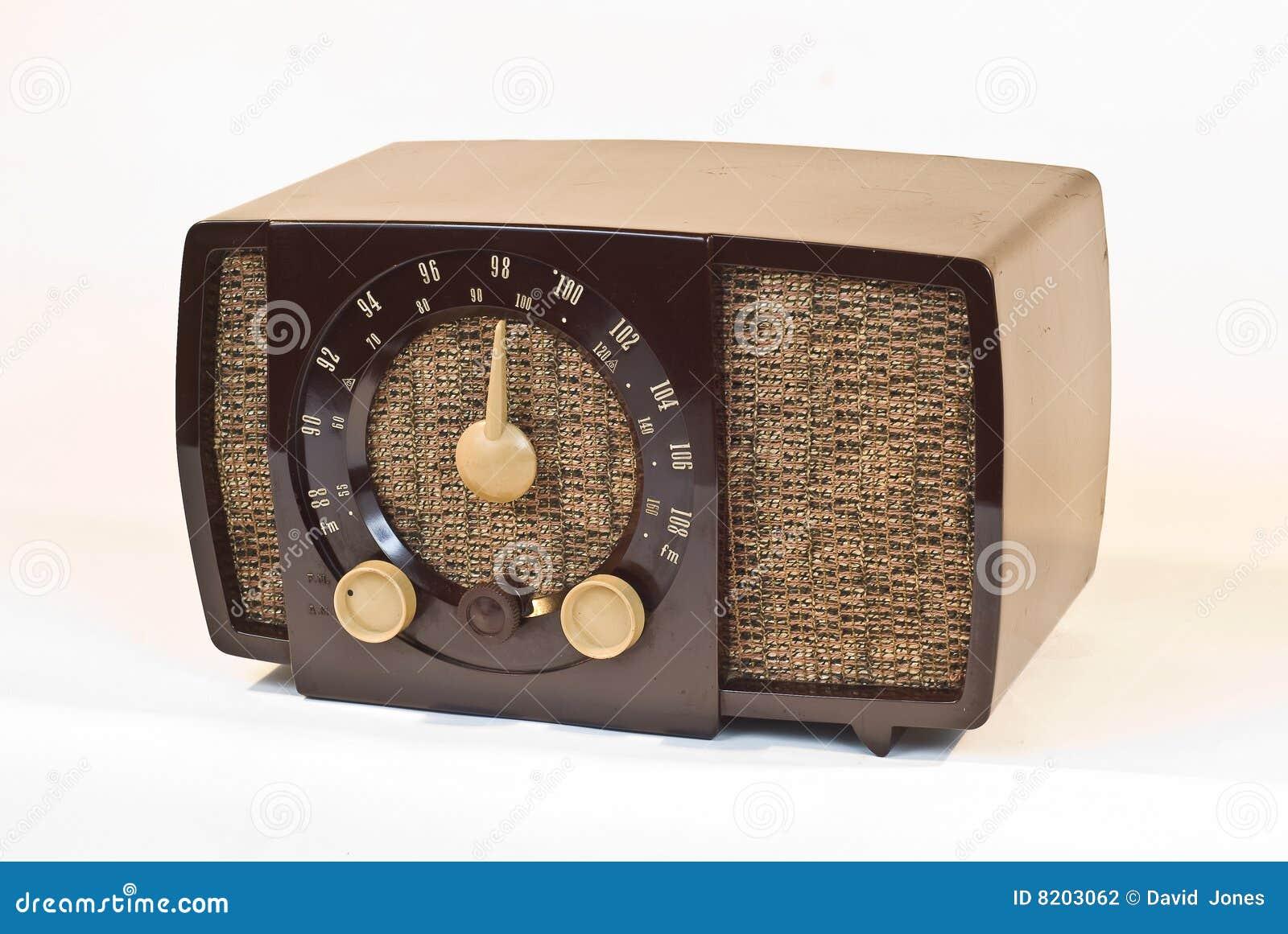 old art deco radio stock photo image of bakelite communication 8203062. Black Bedroom Furniture Sets. Home Design Ideas
