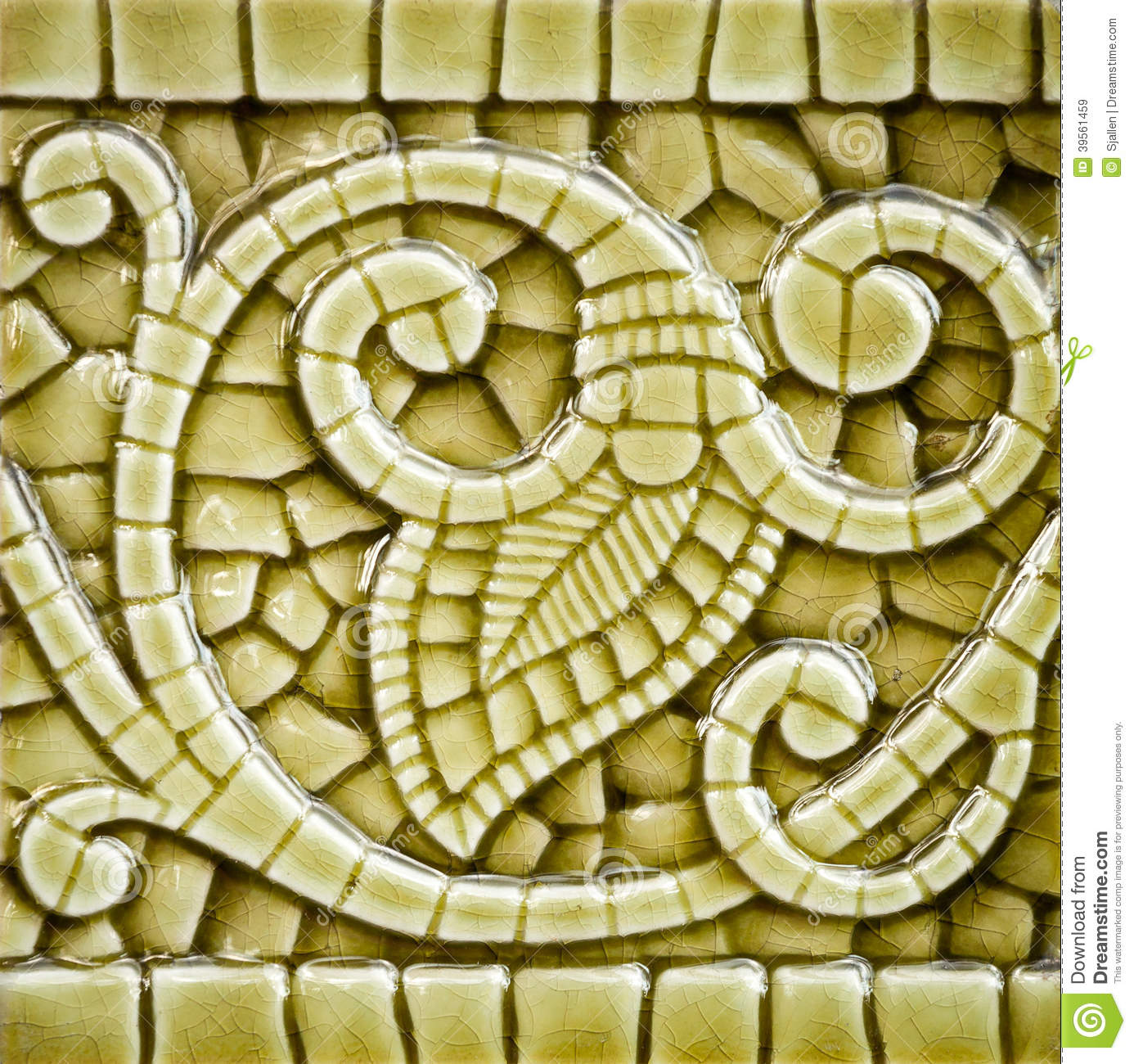 Old art nouveau tile dating from before 1906 stock photo image royalty free stock photo download old art nouveau tile dailygadgetfo Gallery
