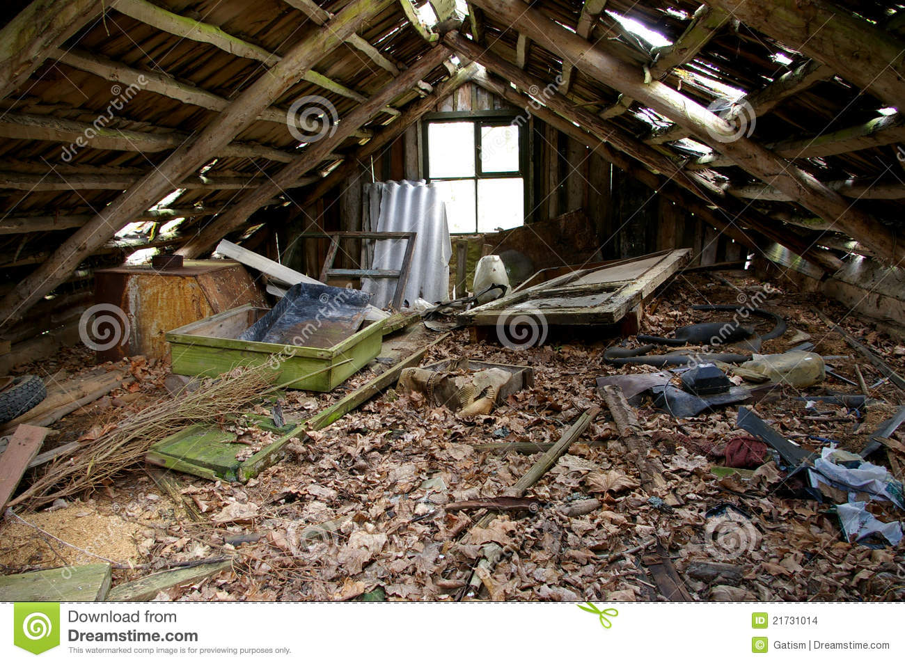 Old Attic Stock Images Image 21731014