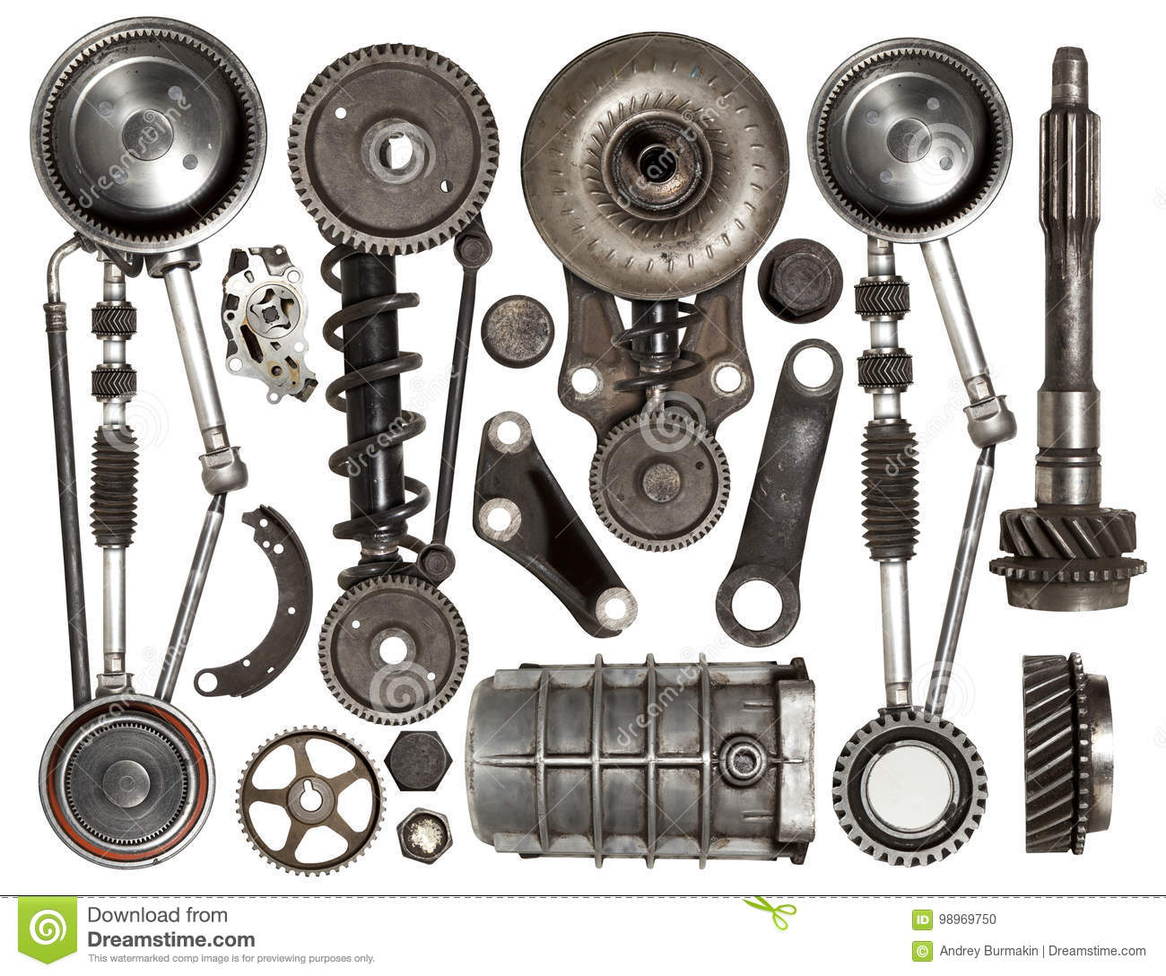 Auto Spare Parts Stock Photos - Royalty Free Images