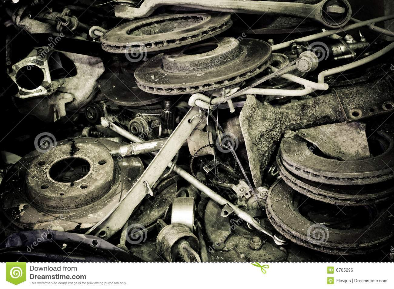 old automotive parts stock photo image of wheels metal