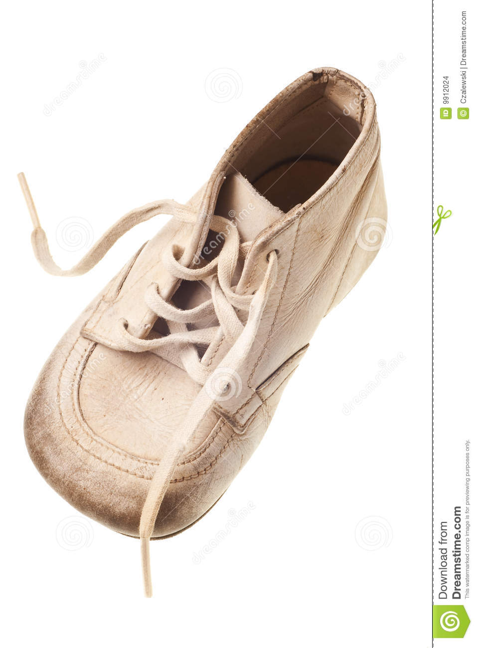 Old baby shoe