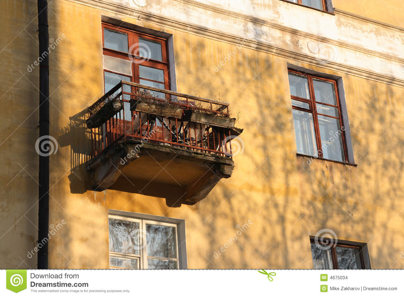 old balcony stock images image 4675034
