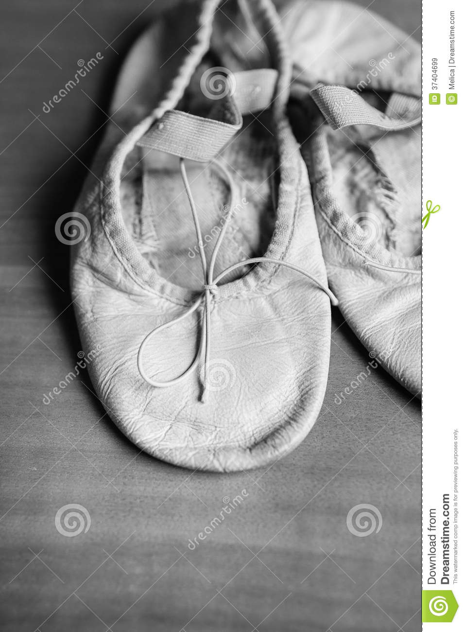 old ballet shoes stock image image of costume children