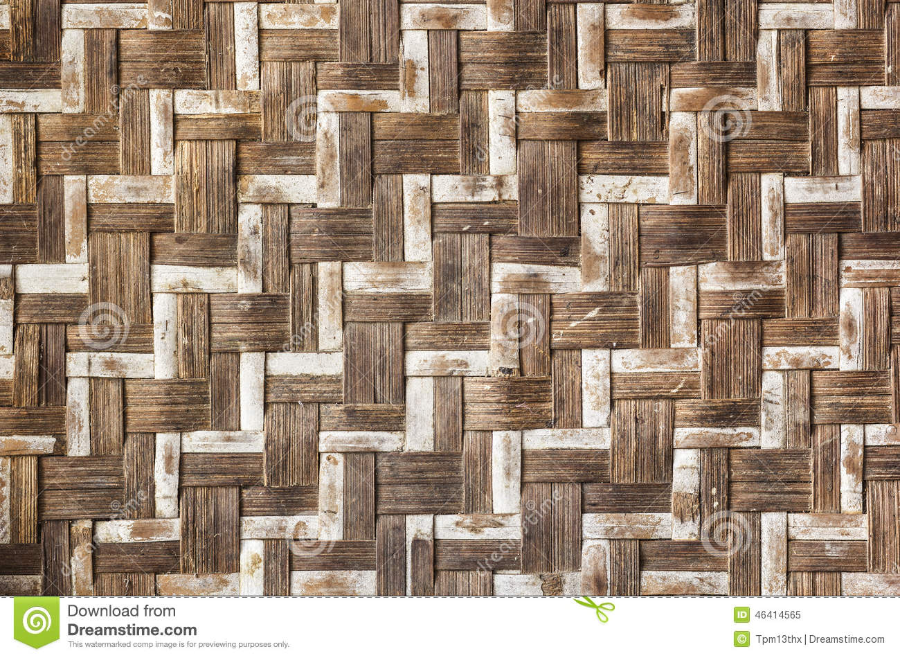 Old Bamboo Craft Texture Stock Image Image Of Backdrop 46414565