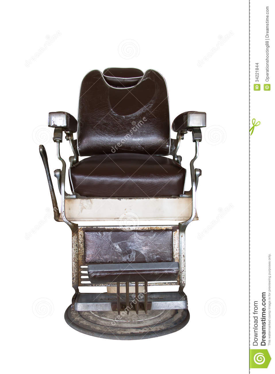 Awe Inspiring Old Barber Chair Stock Photo Image Of Hair Beautiful Pabps2019 Chair Design Images Pabps2019Com