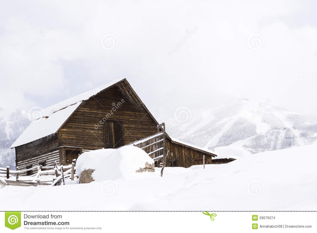 Old Barn Stock Images Image 29079374