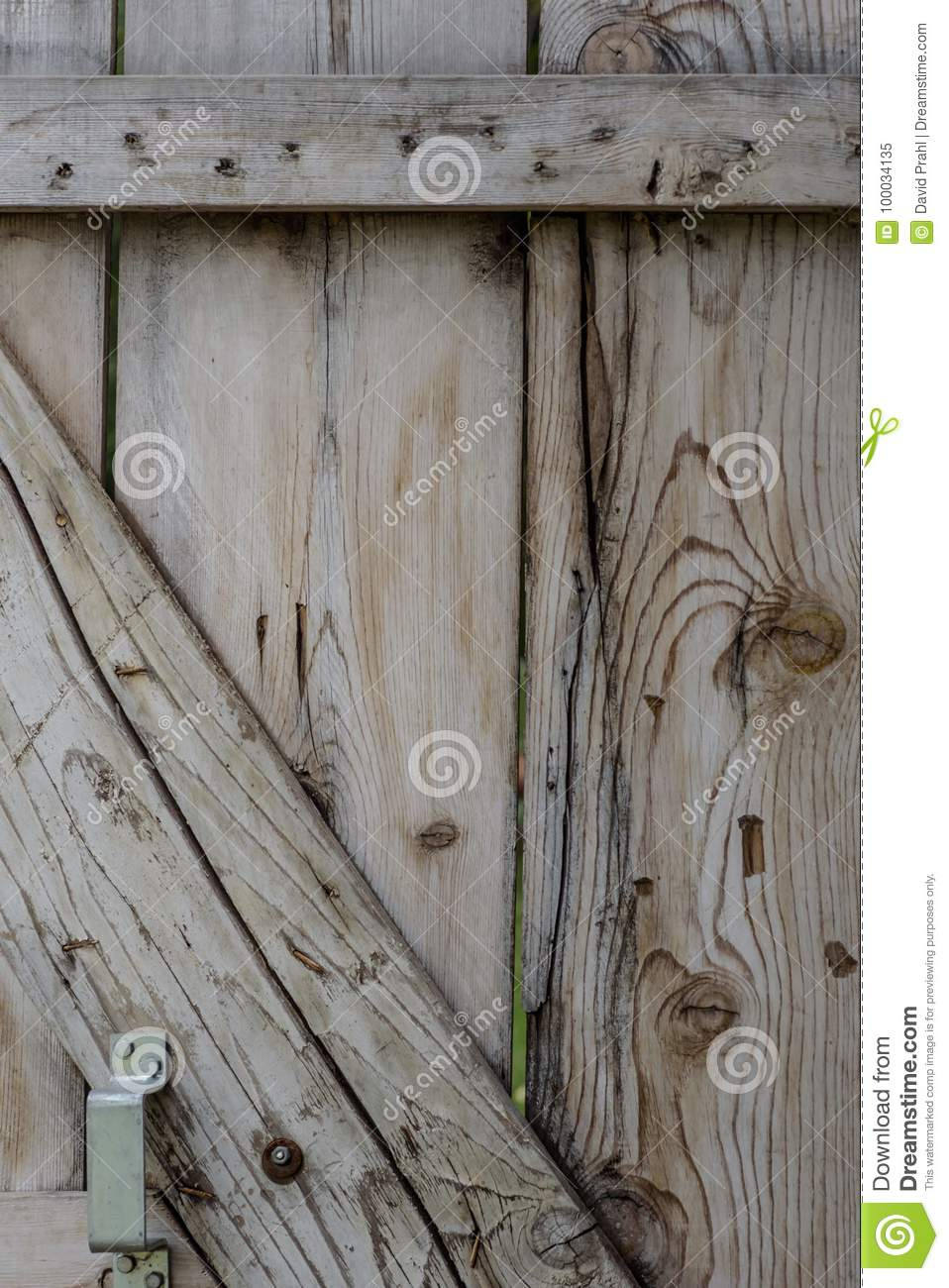 Old Barn Door Backdrop Stock Image Image Of Distressed 100034135