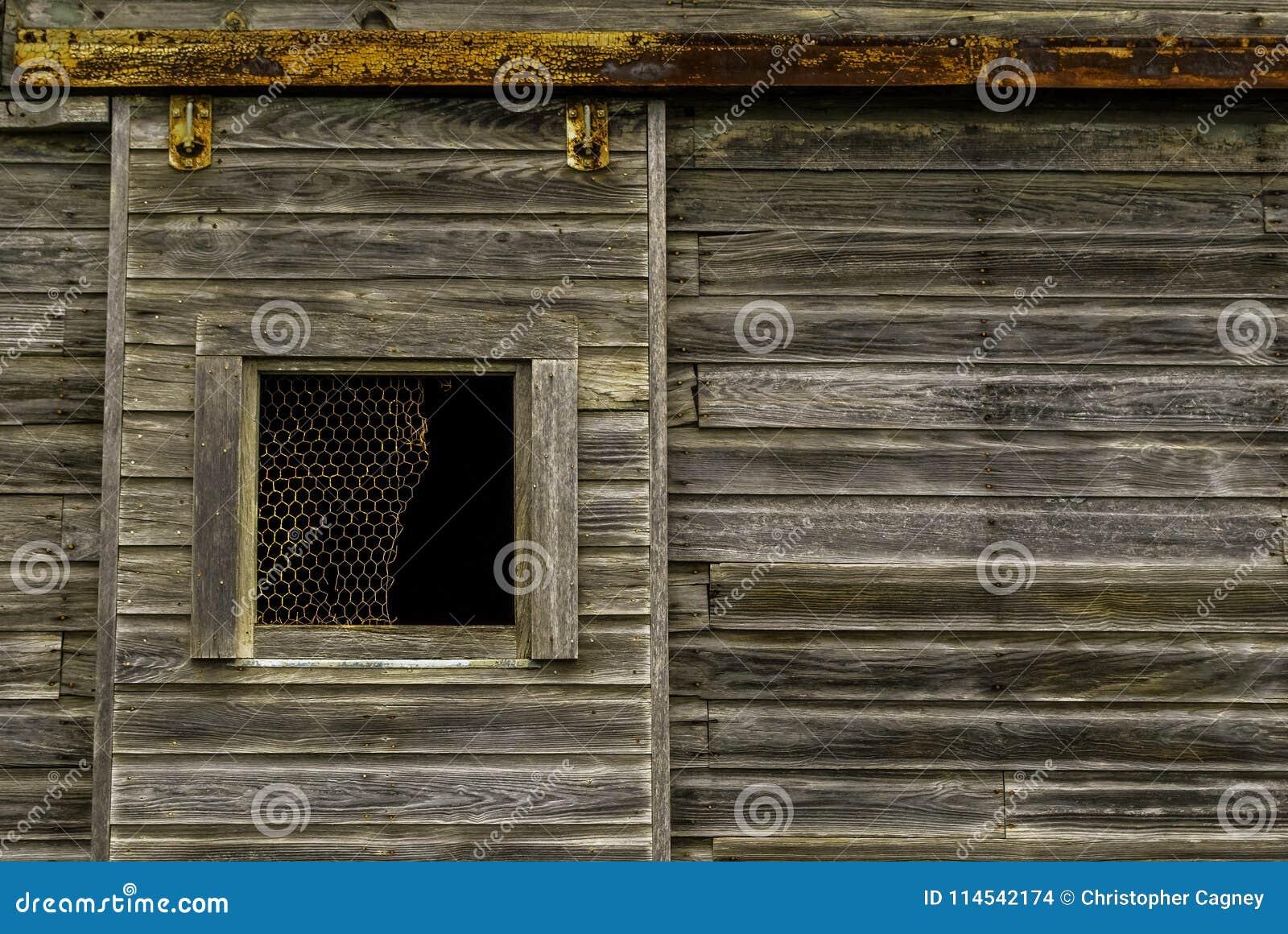 The Old Barn Door Stock Photo Image Of Grey Exterior 114542174