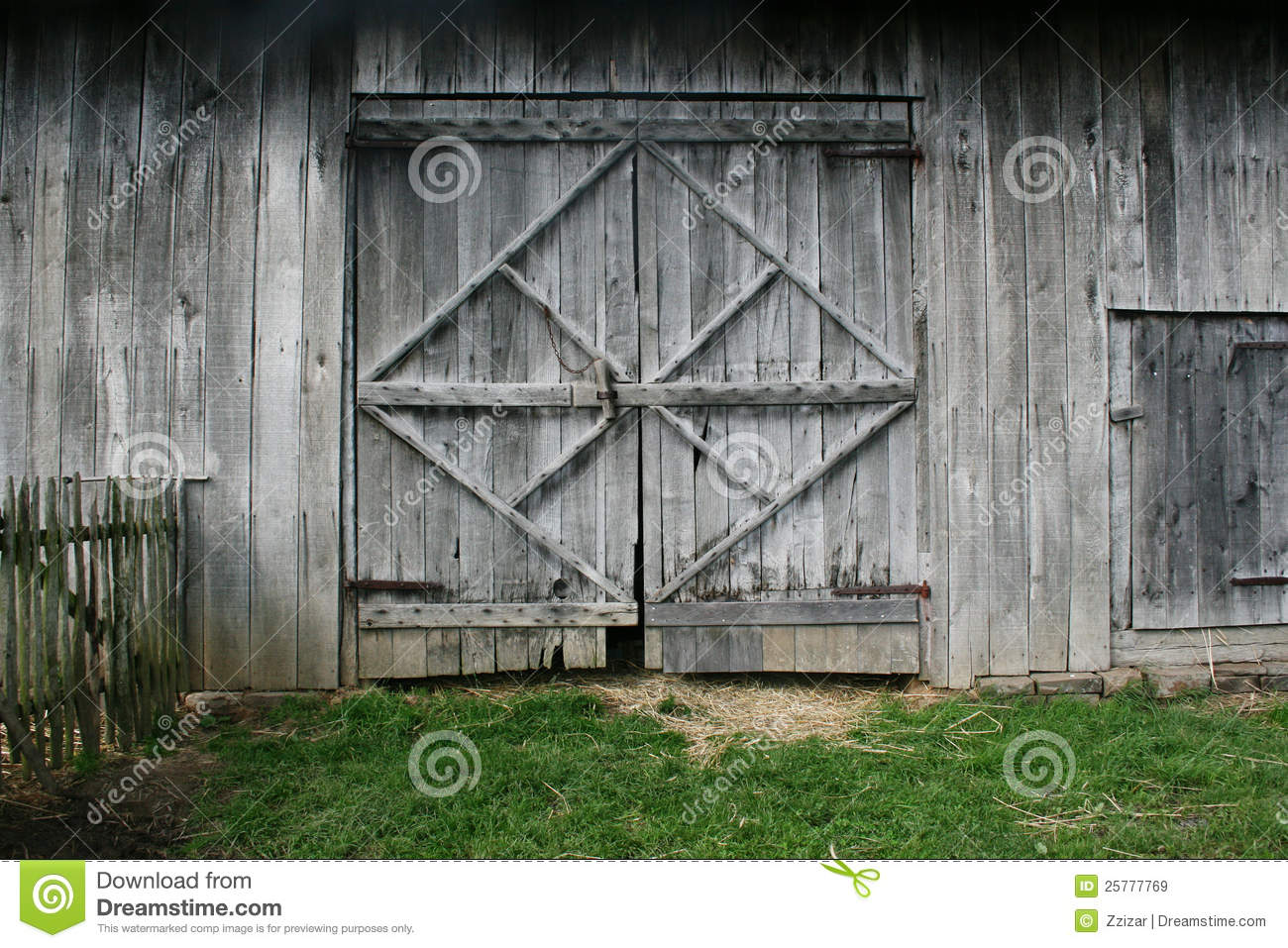 Old Barn Doors Stock Image Image Of Structure Doors 25777769