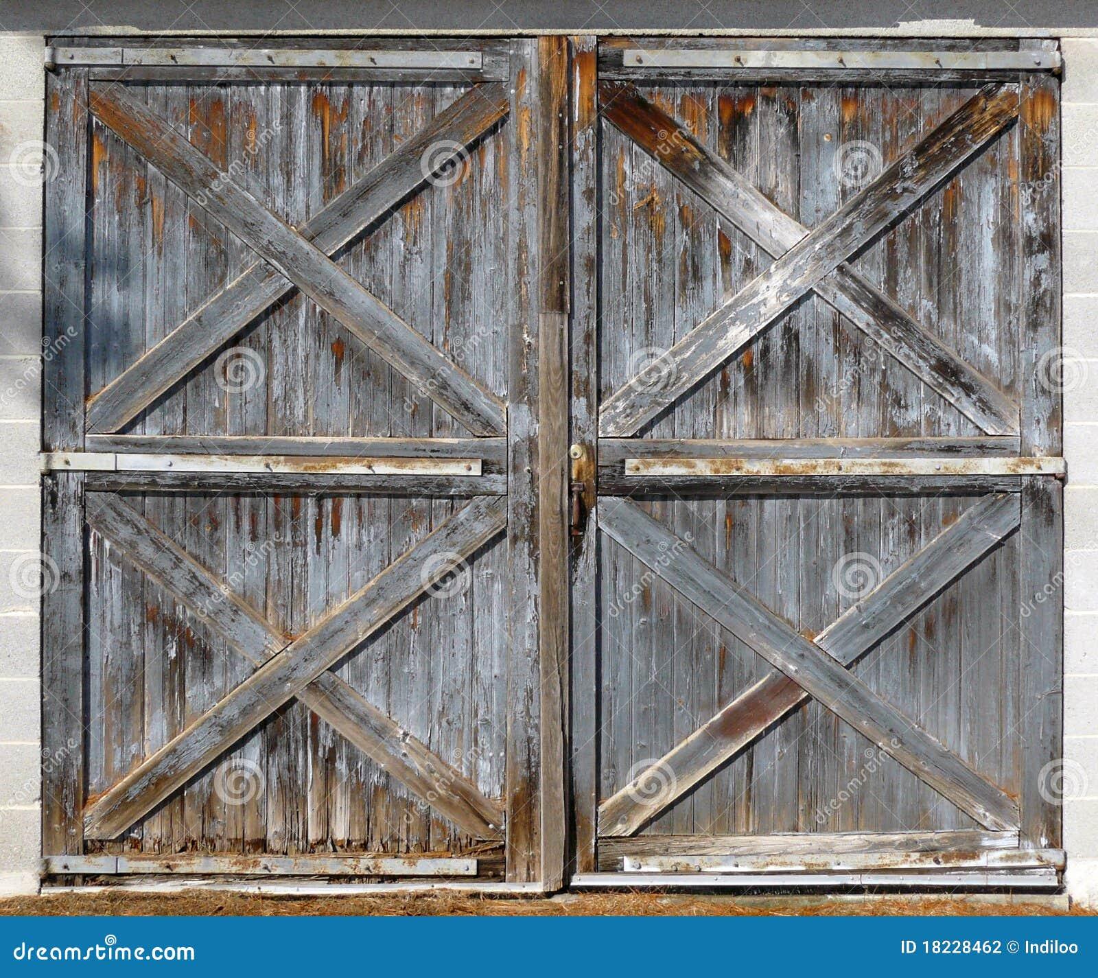 Delicieux Old Barn Double Doors