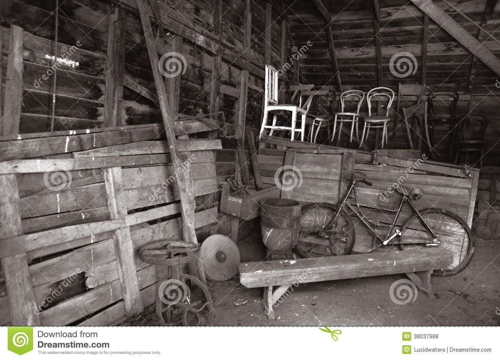 old barn interior royalty free stock photos image 38037988 barn bike farm interior