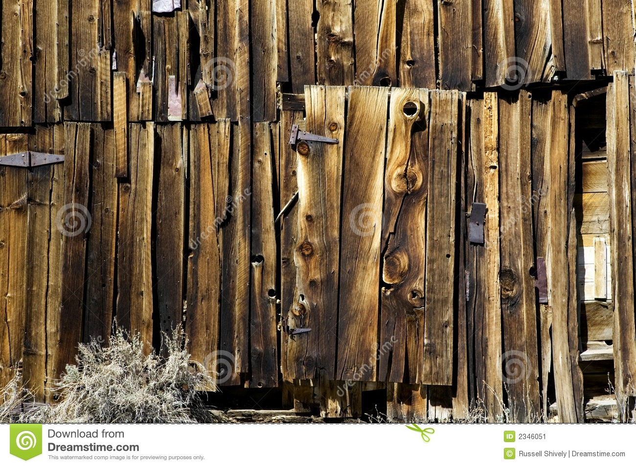 Old Barn Siding And Door Stock Image Image Of Rust