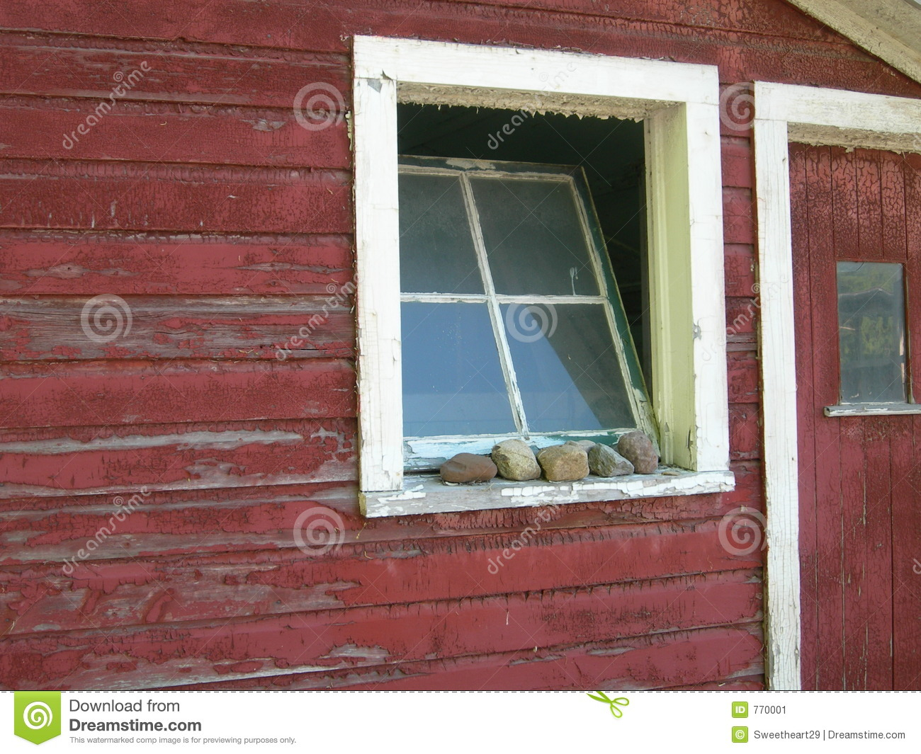 Old Barn Window Stock Image Image Of Farm Door Broken