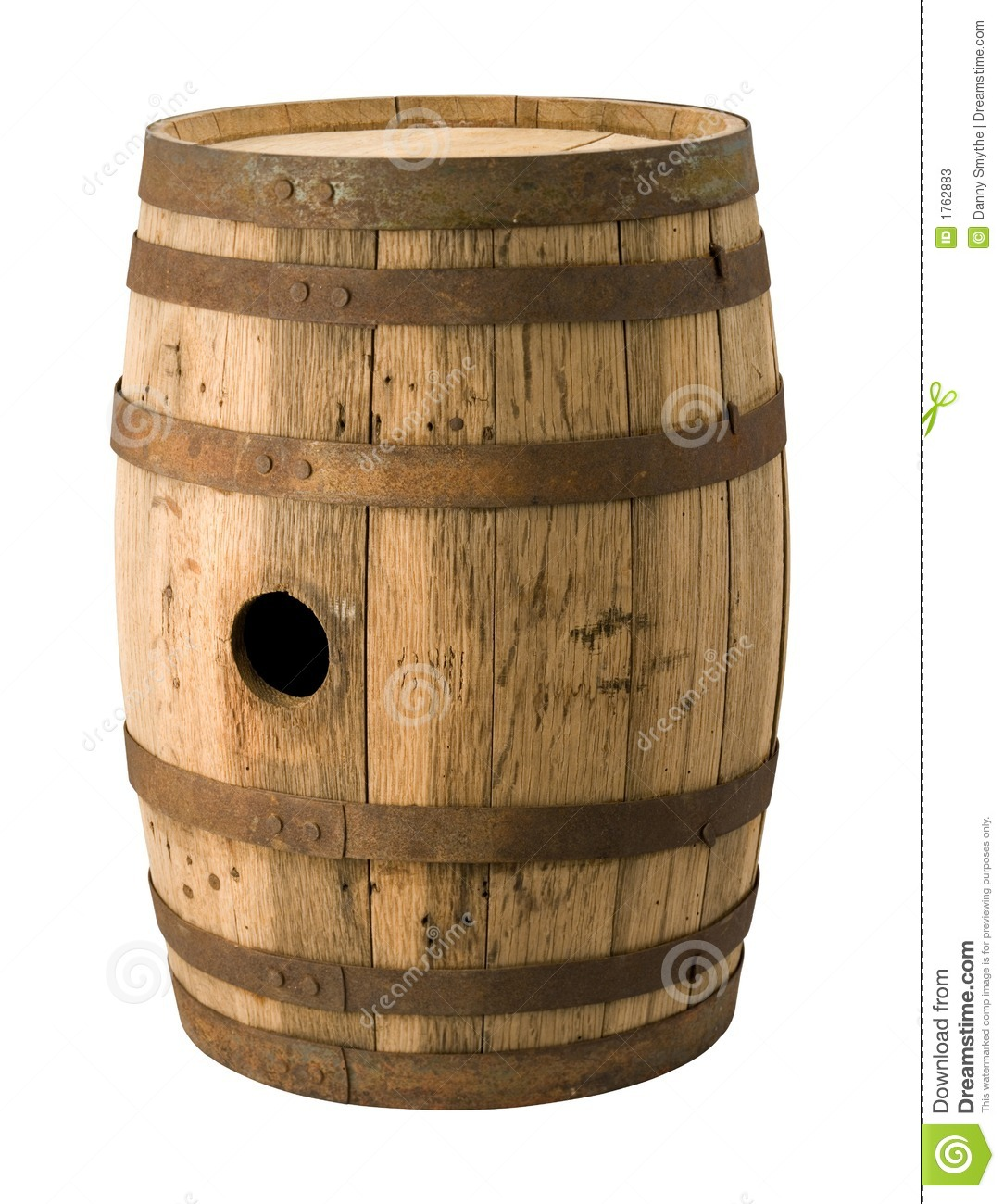 Old barrel with a clipping path stock image image 1762883 - Barriles de vino ...