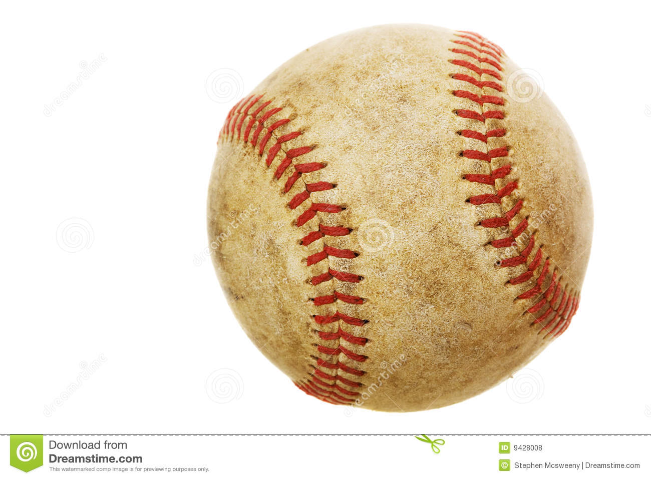 Old Baseball Royalty Free Stock Photos - Image: 9428008