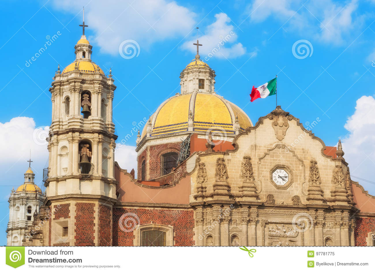 Old Basilica of Our Lady of Guadalupe in Mexico city