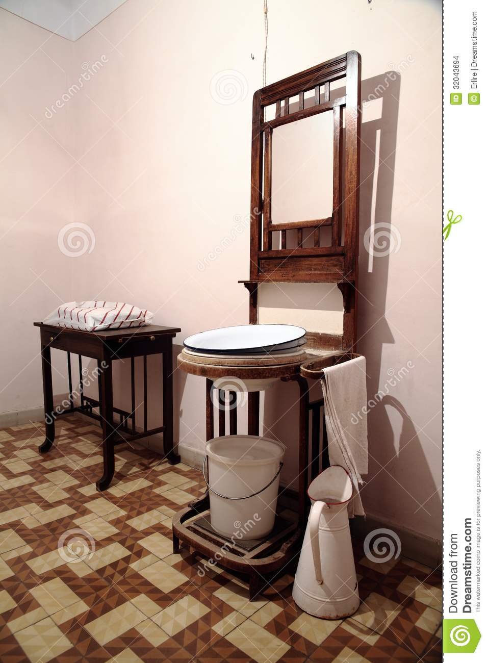 very old dirty sink with rusty metal drain royalty free stock photo 82945011. Black Bedroom Furniture Sets. Home Design Ideas