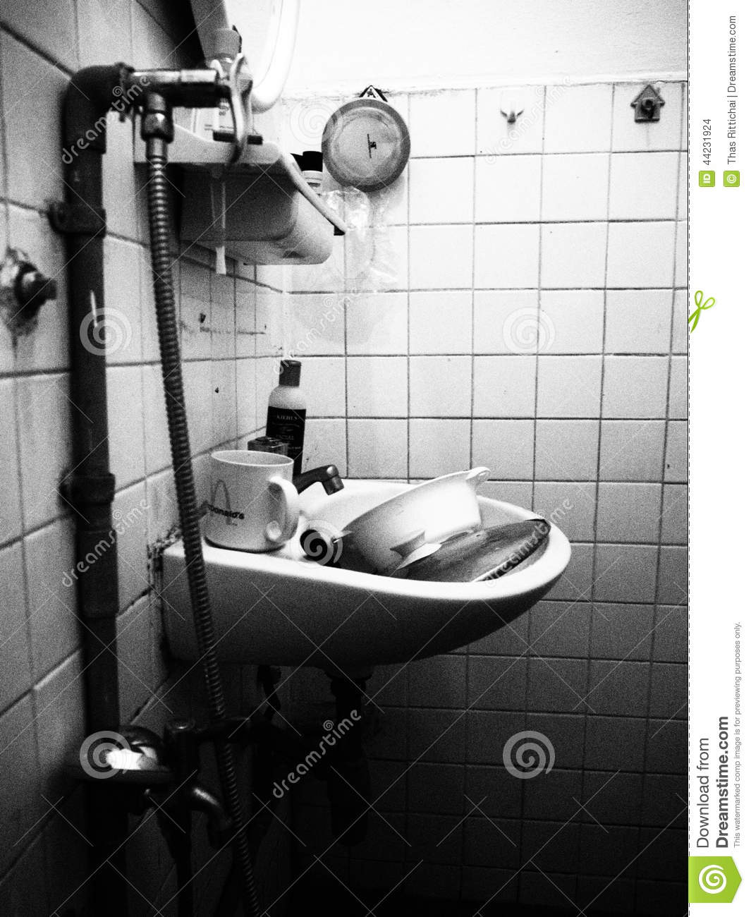 Old Bathroom Editorial Stock Image Image 44231924