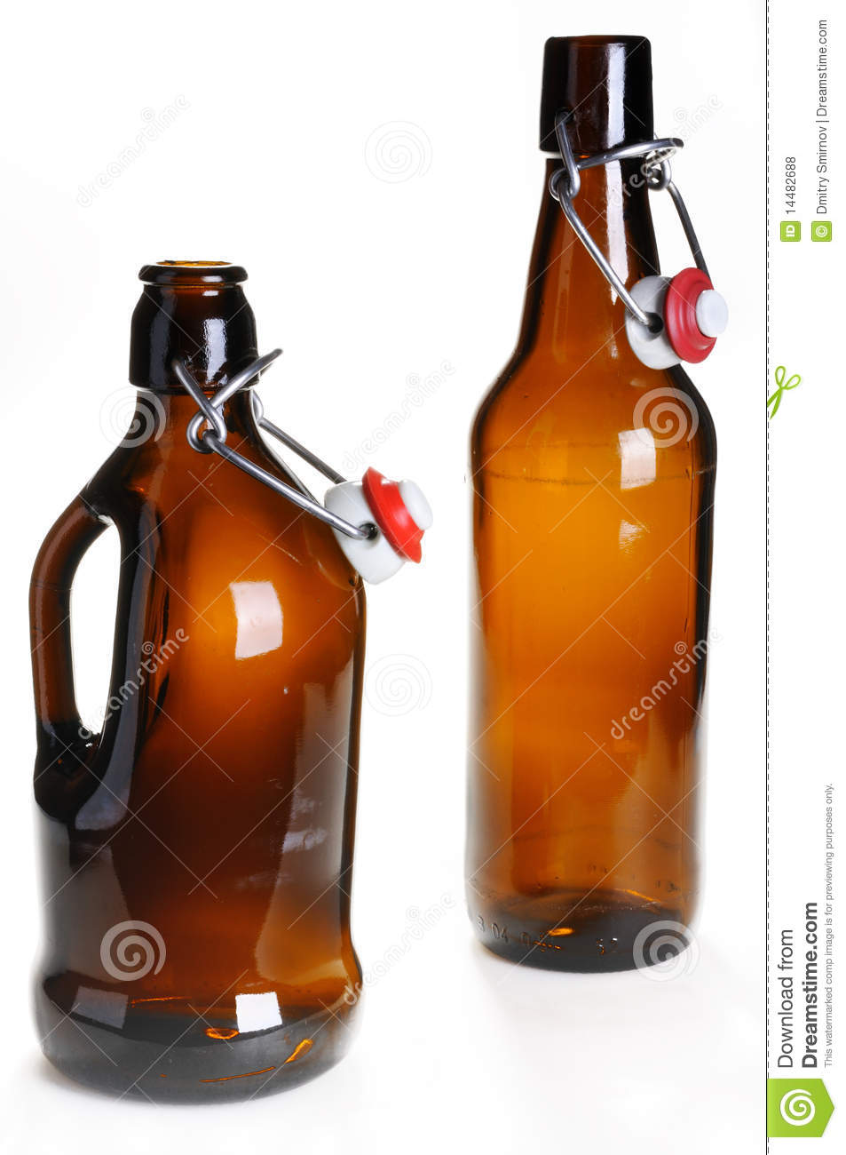 Old Beer Bottles Royalty Free Stock Photos Image 14482688