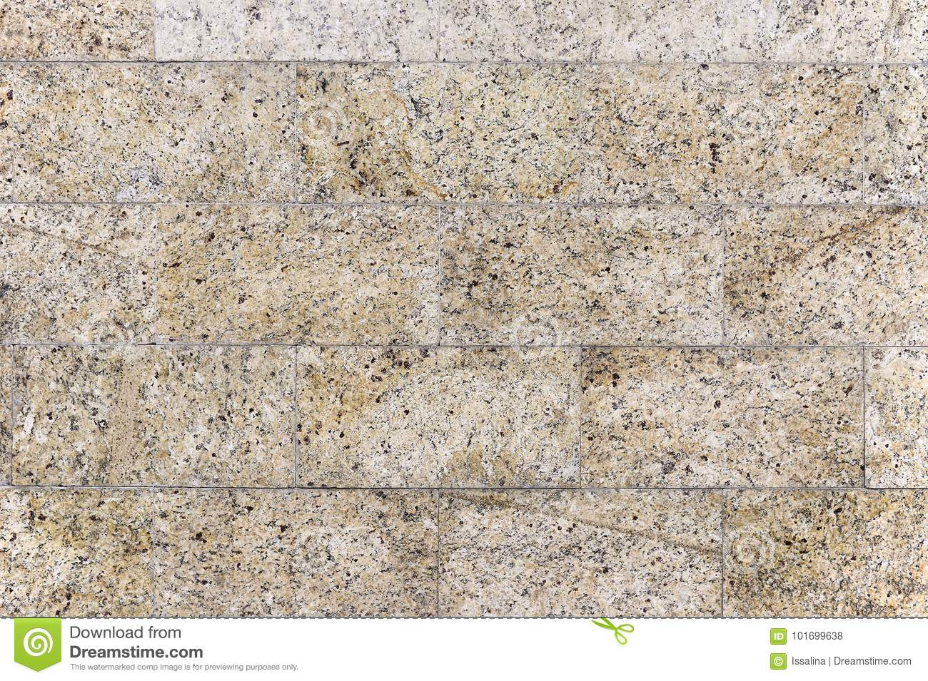 Download Old Beige Granite Stone Wall Background Texture Stock Photo