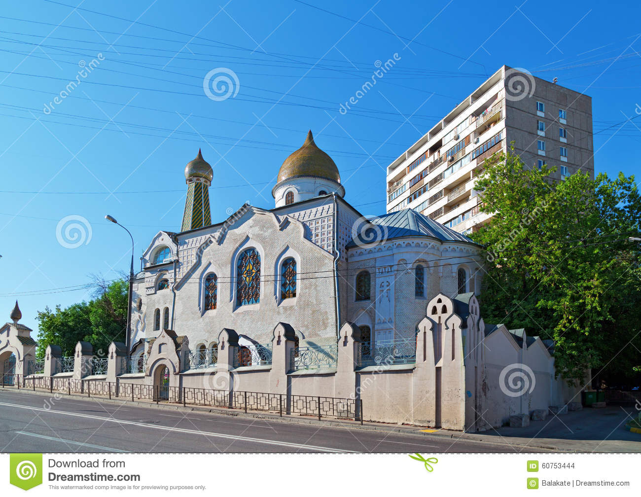 Where in Moscow are the Old Believer churches