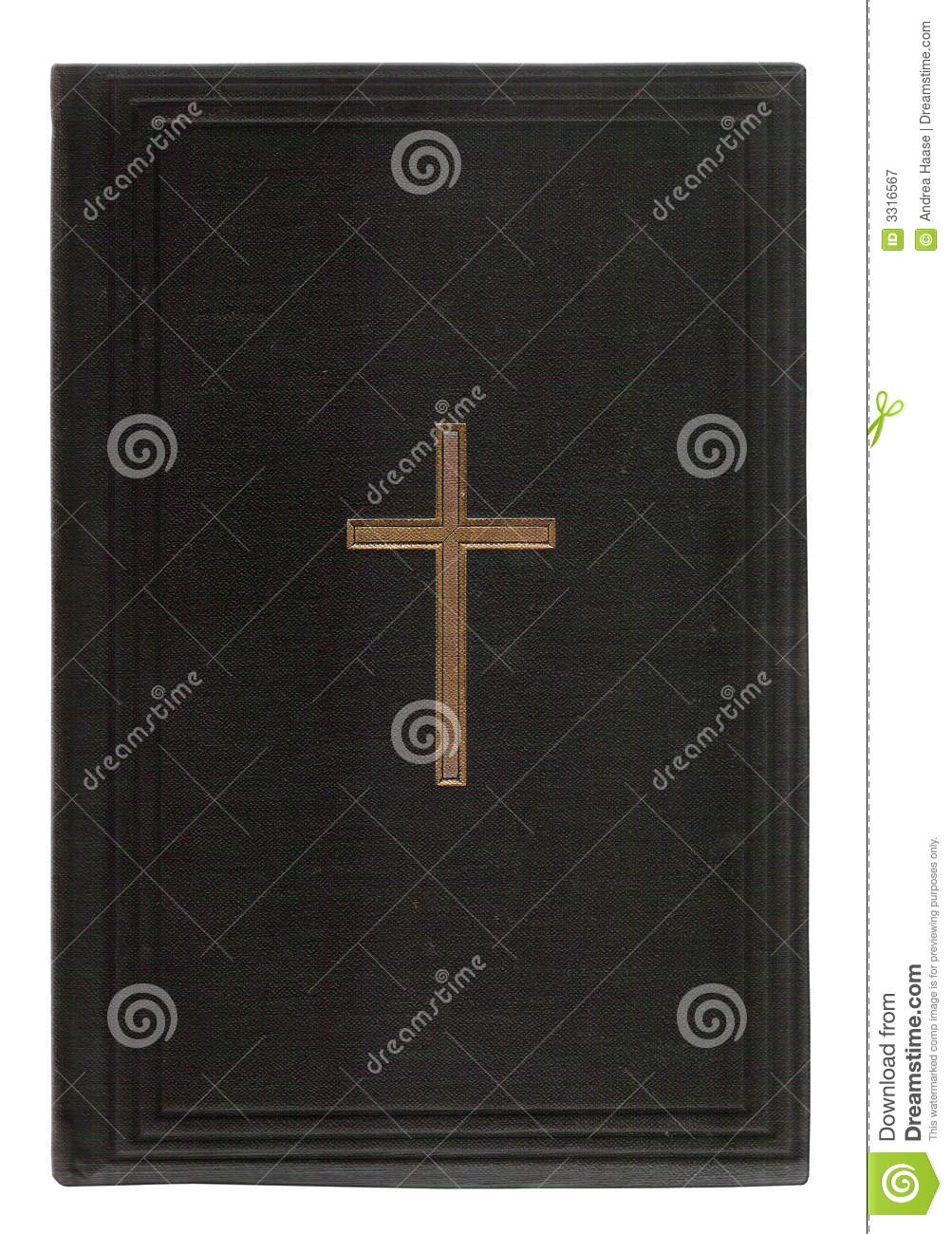 Vintage Leather Look Jeremiah Verse Bible Book Cover Large: Old Bible Book Cover Royalty Free Stock Photography