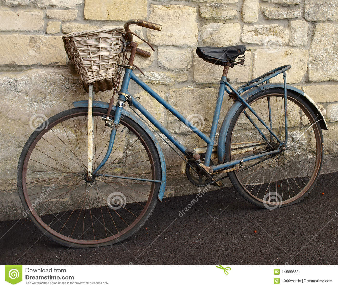 Old Bicycle Stock Photos - Image: 14585653