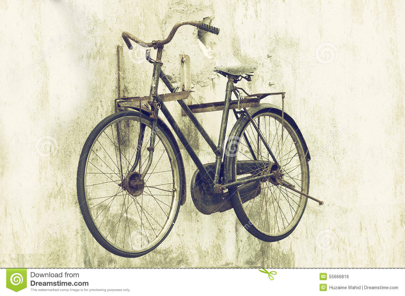 Greatest Old bicycle stock photo. Image of heart, image, cultural - 55666816 YL56