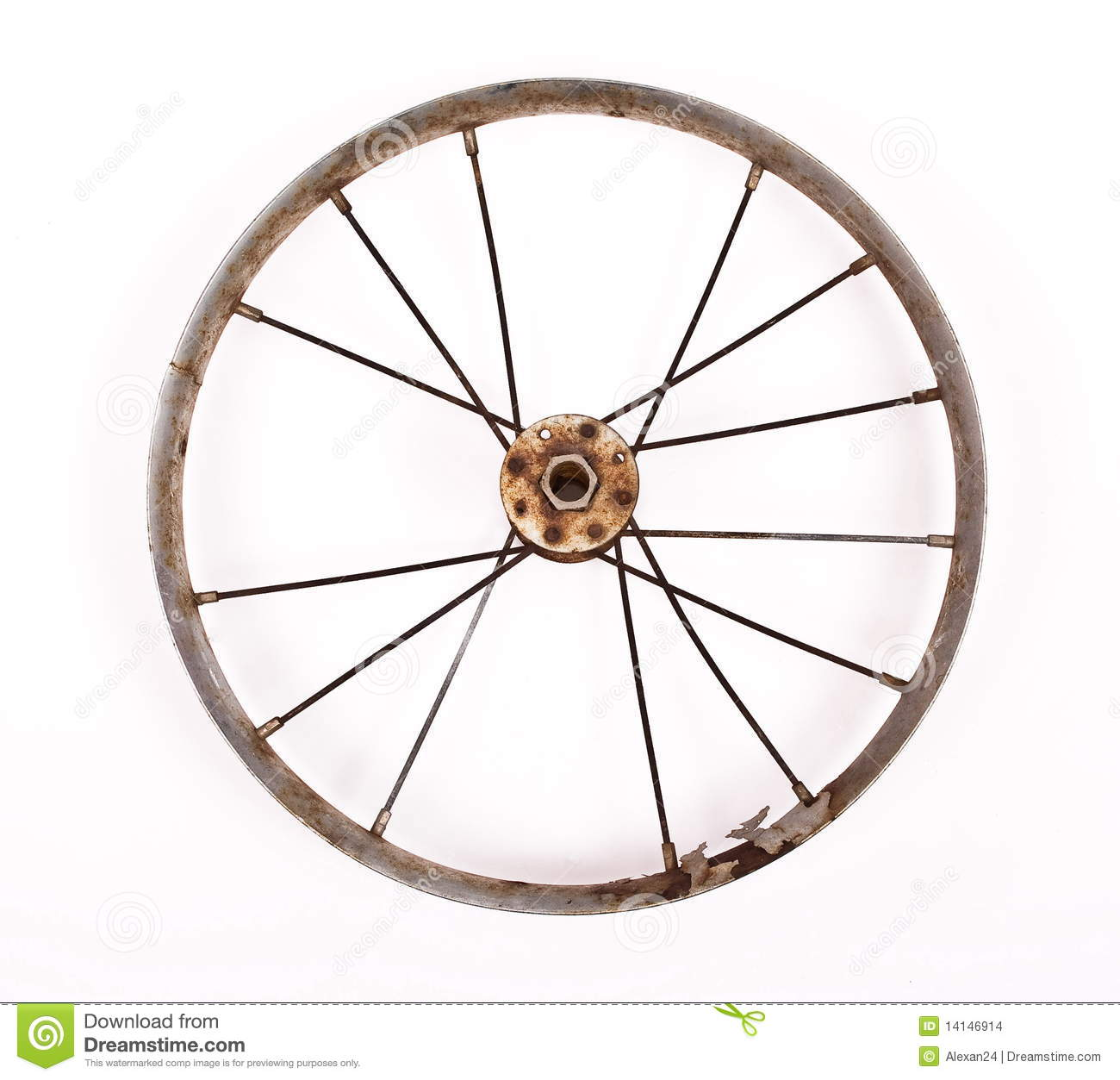 old bicycle wheel stock photo image of cycling rubber