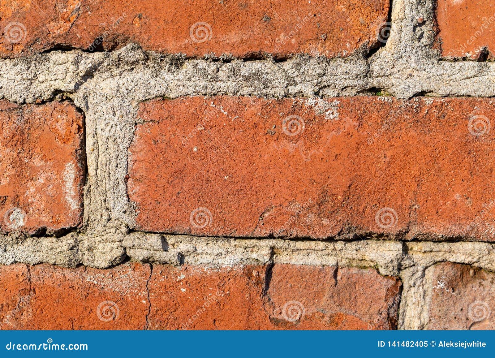 Old big bricks wall background