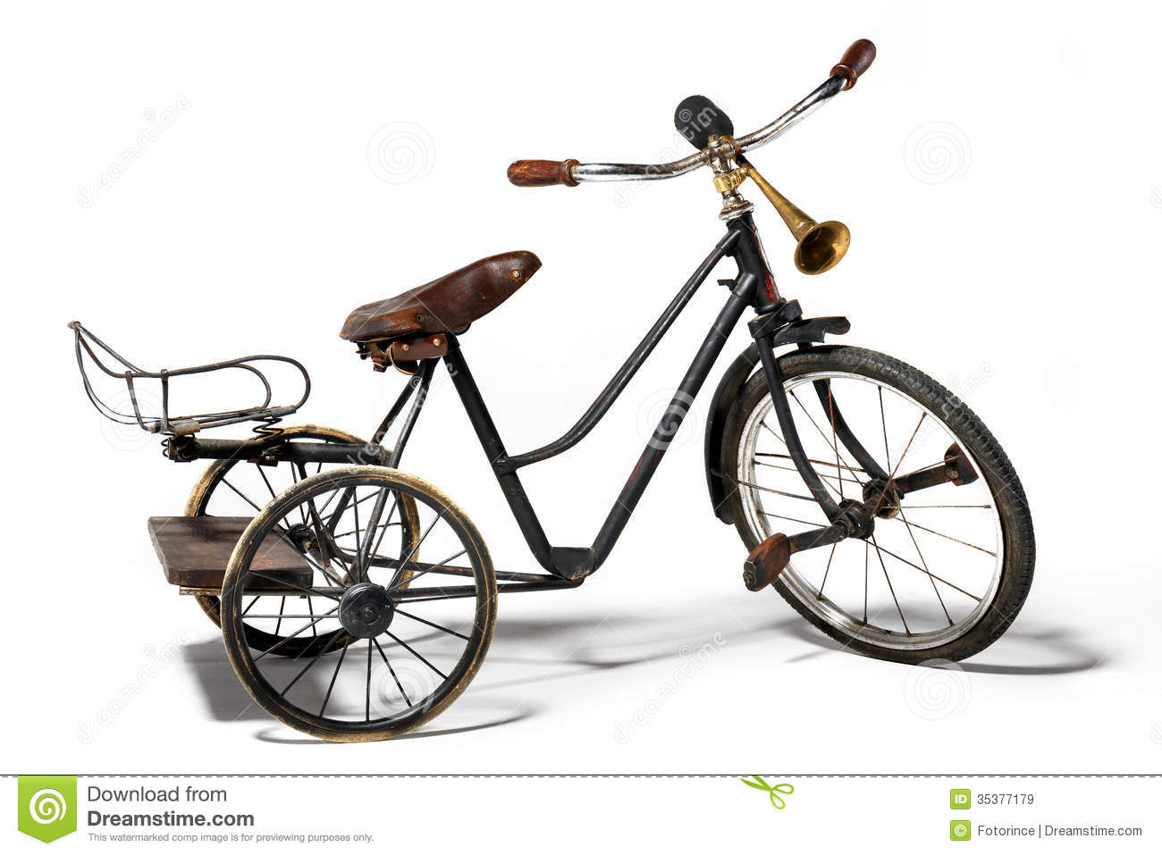 Old Fashioned Bike With Basket