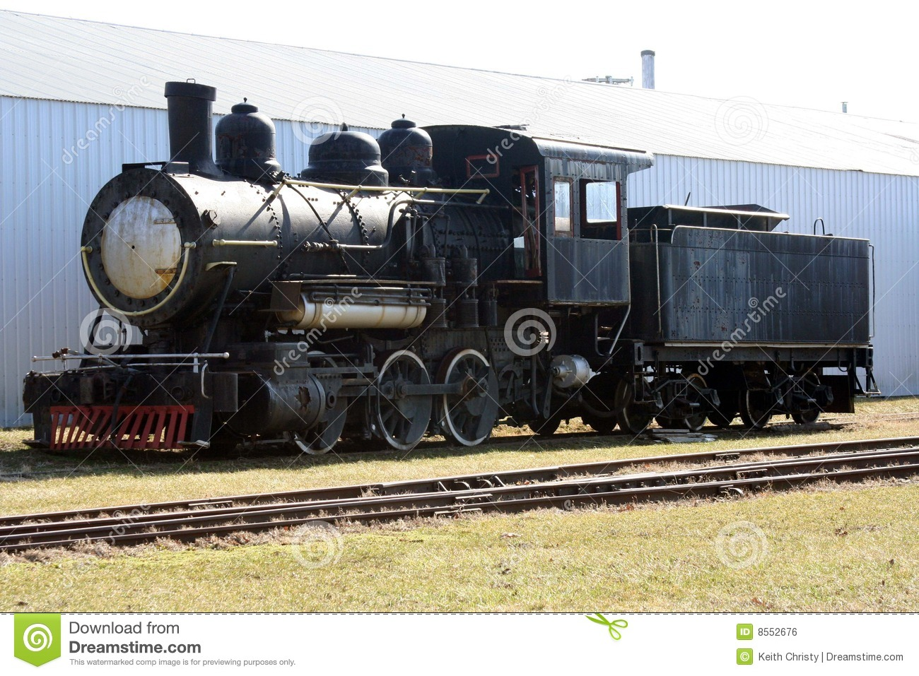 Old Black Train Royalty Free Stock Image - Image: 8552676