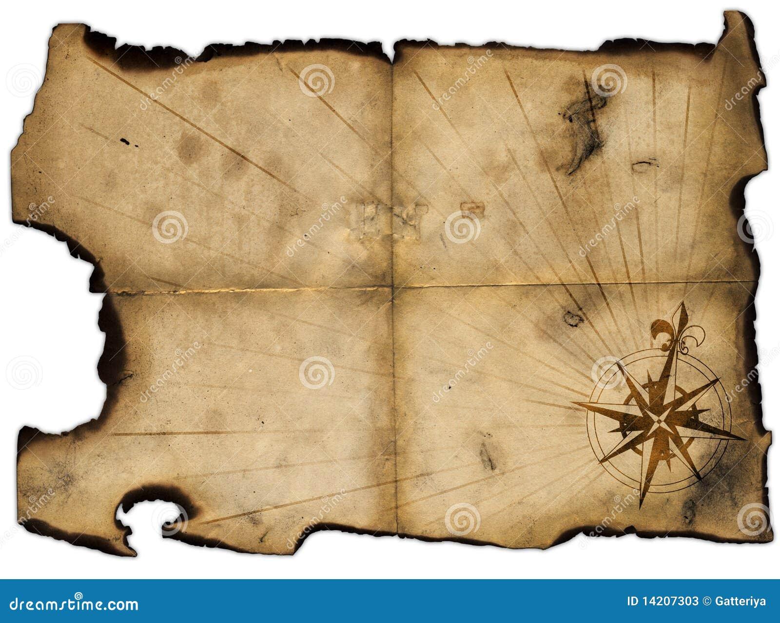 Blank treasure map template maxwellsz