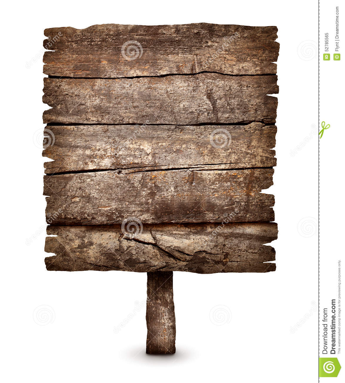 old blank weathered wooden board sign stock photo image