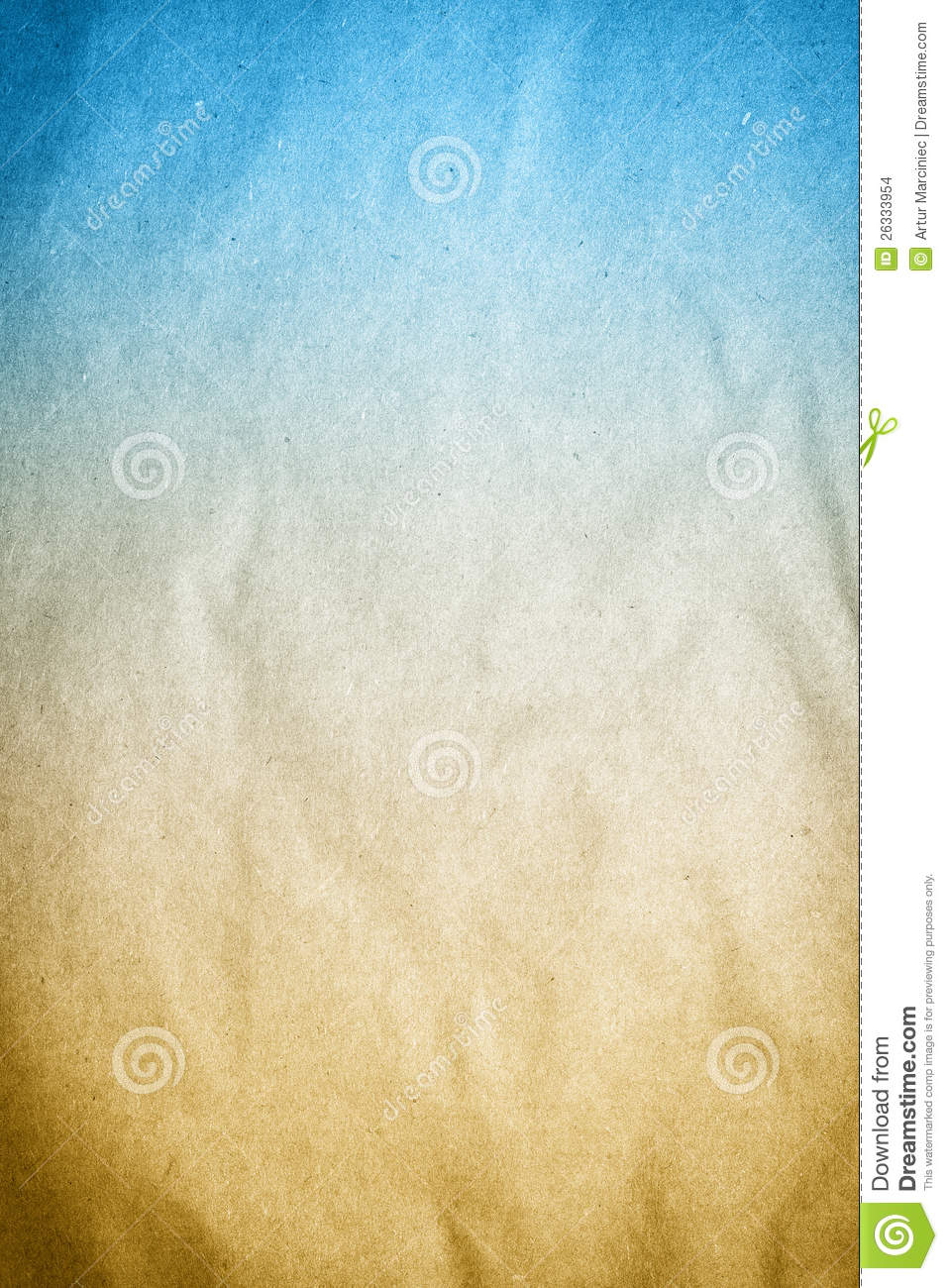 Old Blue Brown Background Paper Texture Stock Images - Image: 26333954